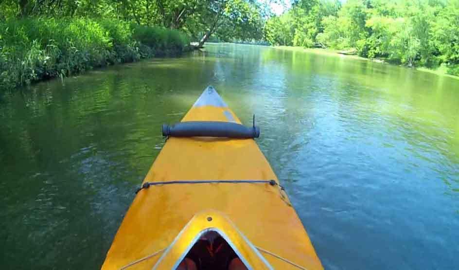 Average Kayak Speed