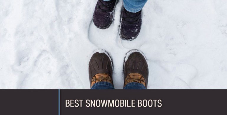 best snowmobile boots review