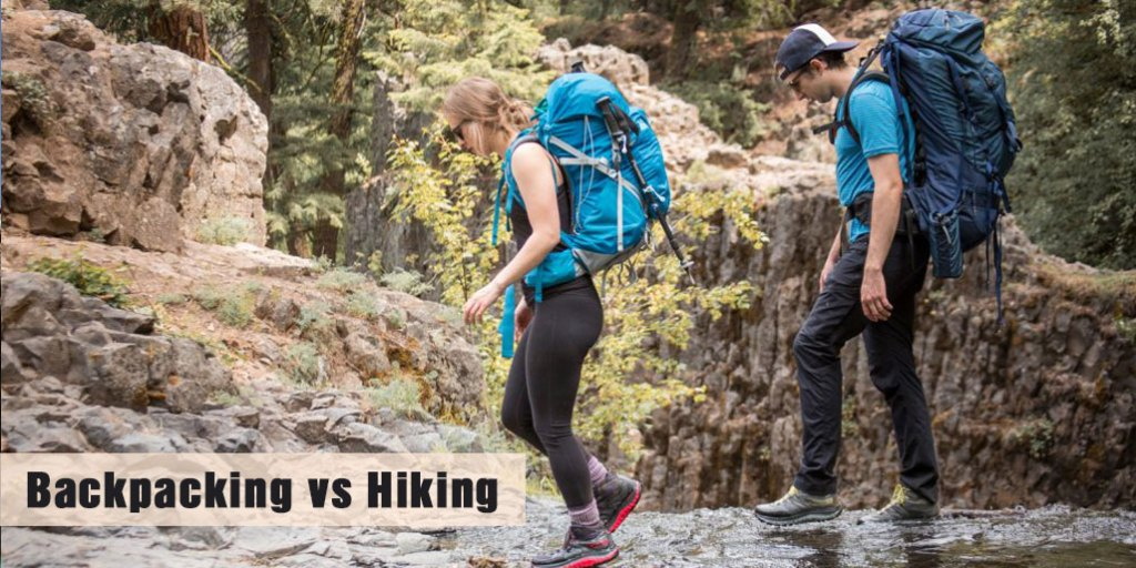 Backpacking vs Hiking the Differences