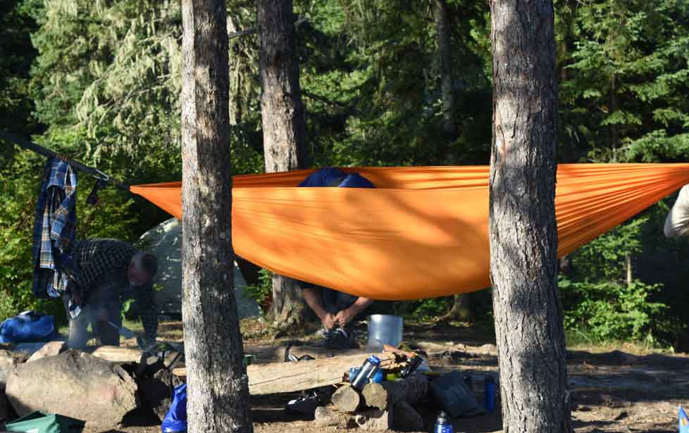 Camping Hammock as Comfortable Sleeping
