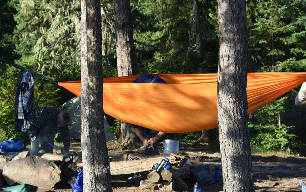 Camping Hammock as Comfortable Sleeping