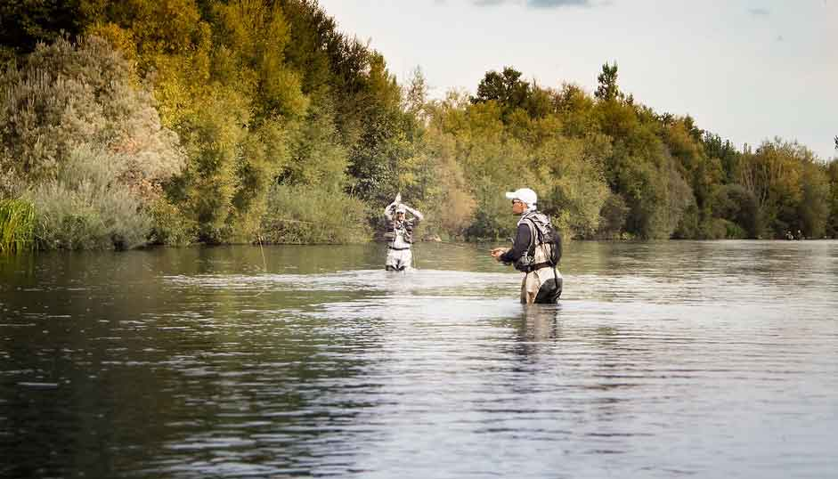 Fly Fishing in the Orbigo River