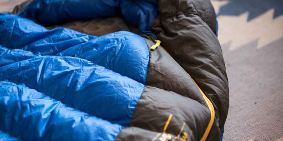 Insulation of the sleeping Bag