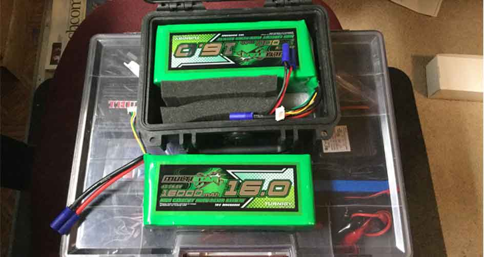 Fish Finder Battery Install