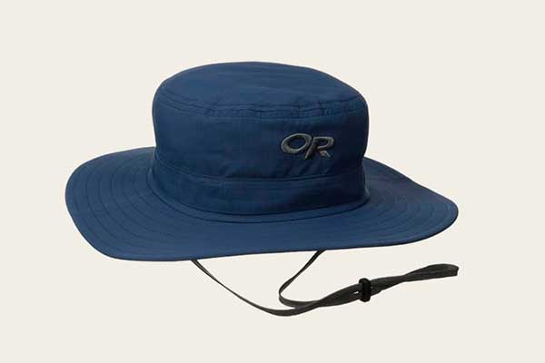 Check the Material of the Hiking Hat