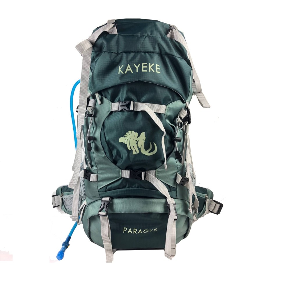 Compartments of the Hiking & Travel Backpacks