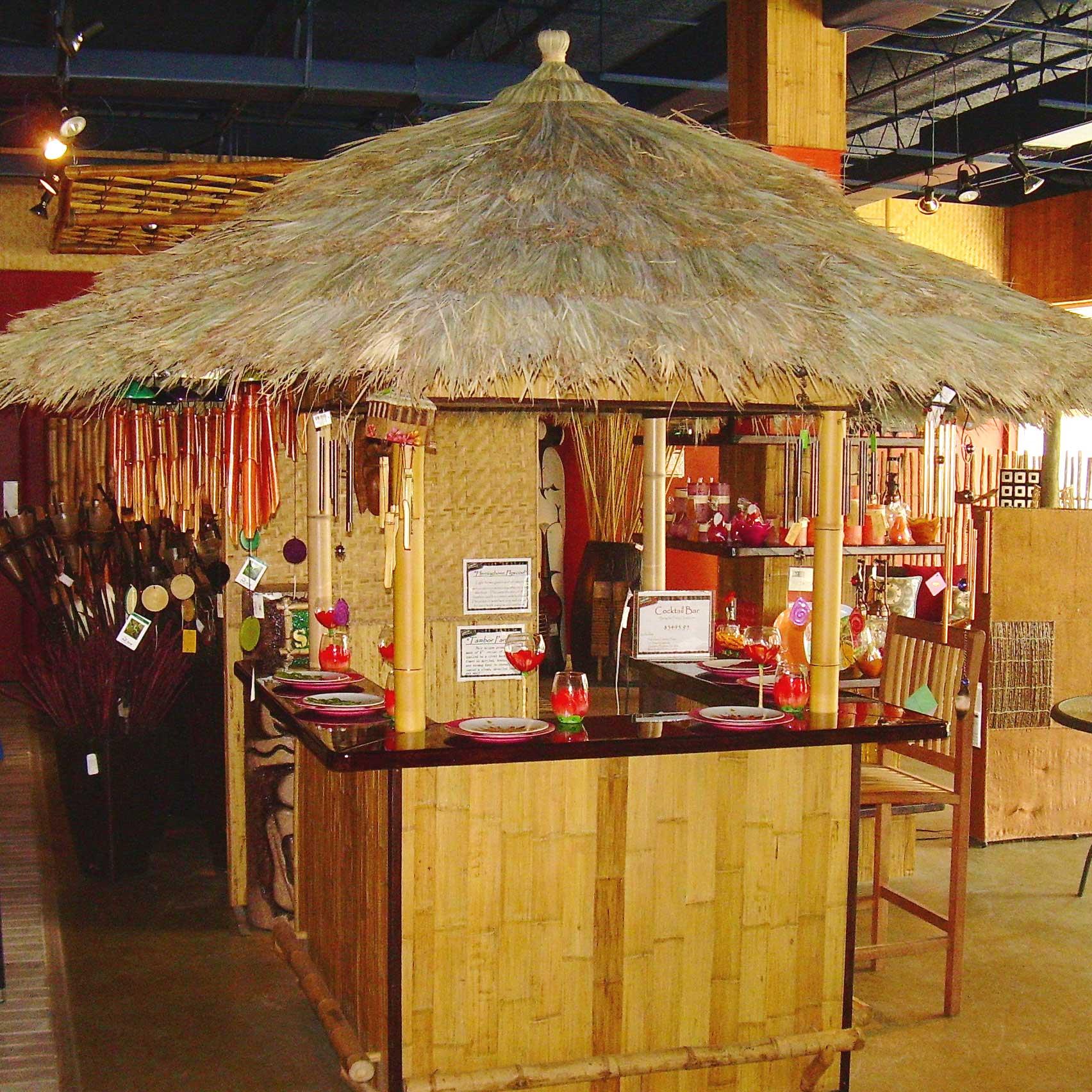 Tropical Cabanas Tiki Bar Gazebos Amp Concession Stand