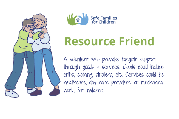 be a resource friend
