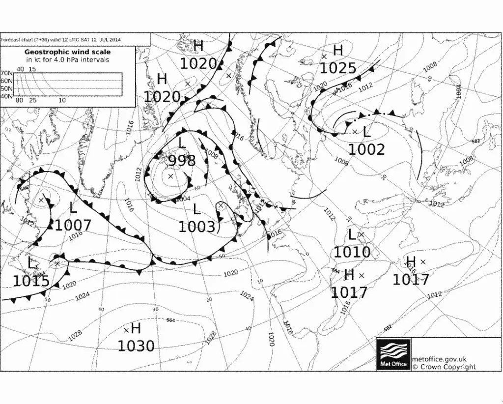 How To Read A Synoptic Weather Chart — Better Life