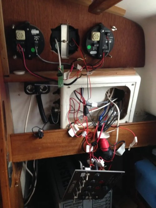 small resolution of rewiring overcoming the challenges of boat electrics