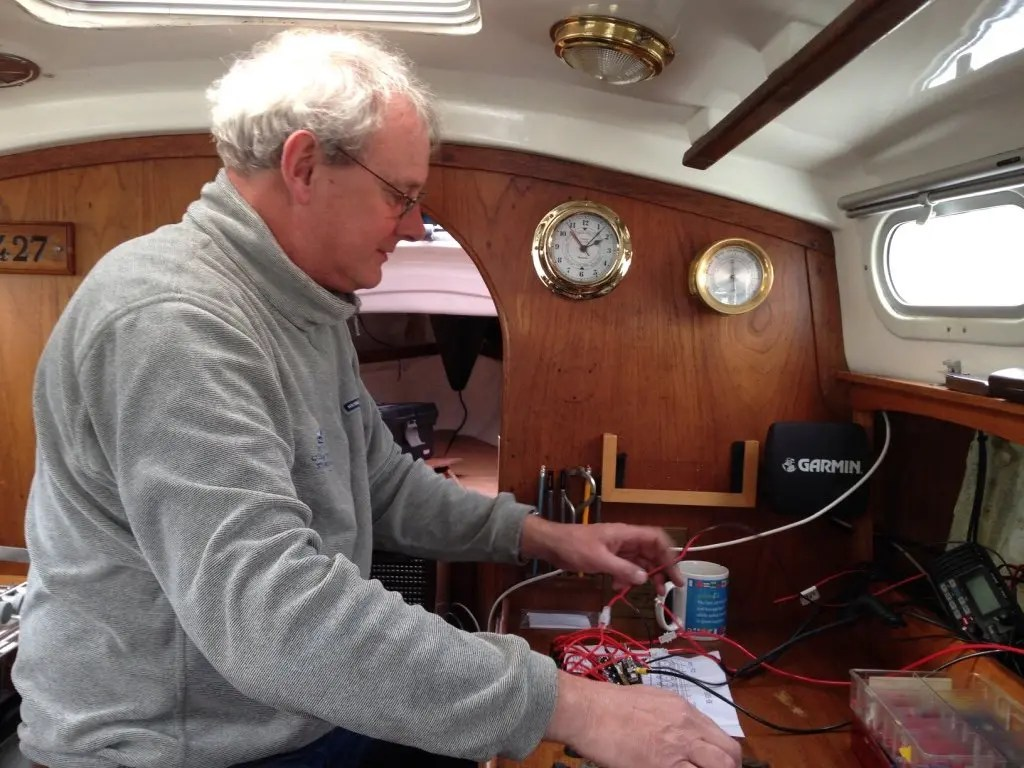 hight resolution of rewiring a contessa yacht