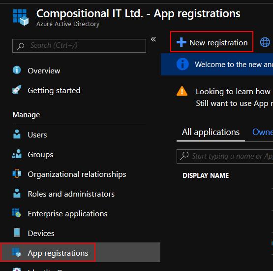 Registering with Azure - SAFE Documentation