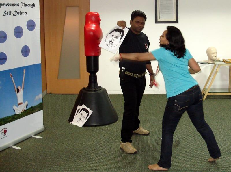 Corporate Self Defence workshop