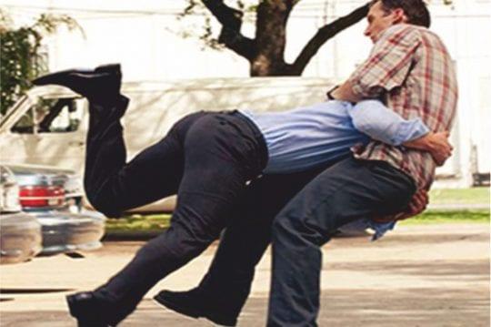 Men self defence move