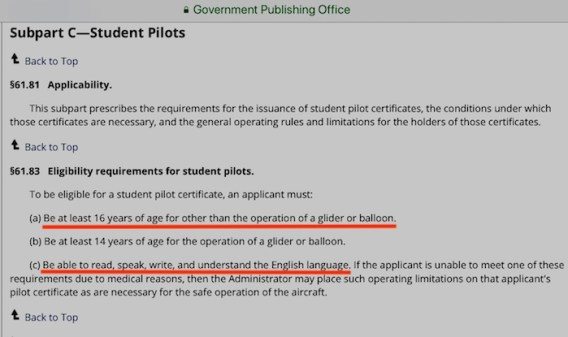 How to Apply in IACRA for a Student Pilot Certificate – SAFE ...