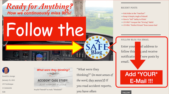 """Follow"" SAFEblog!"