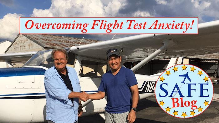 Overcoming Flight Test Anxiety!