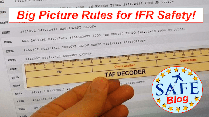 Essential Rules for IFR Safety!
