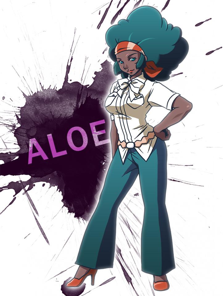 safebooru - afro aloe pokemon