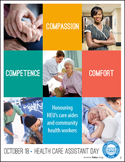 Health Care Assistant Day in BC  Safecare BC
