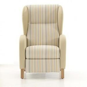 RELAX CHAIR Sensory chairs and sofas Upholstery with vinyl M2 fireproof fabric Measures: 103 x 71 x 85 cm.
