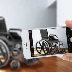 VIRTUAL MOUNTING SOLUTION A custom-designed mounting solution for your wheelchair