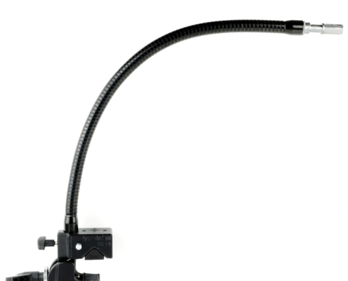 gooseneck-with-super-clamp for easy mounting of any small AAC devices and switches