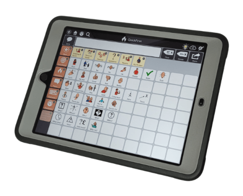 SC Tablet - TD Snap cSC Speech Tablet combines Tobii Dynavox technology with the latest generation iPad to create a powerful communication solution