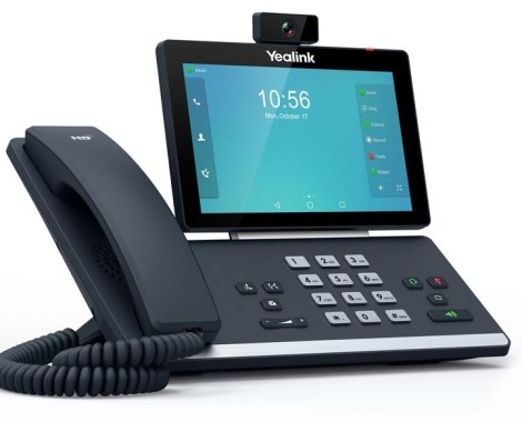 <b> 445,00 €</b>Yealink SIP-T58A with camera IP Smart Media Phone