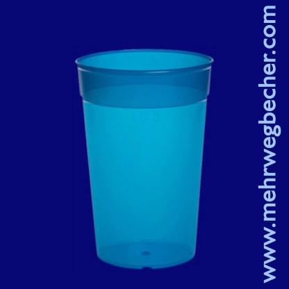 9029-5-reusable-cup-0,3l-pp-blue-plastic