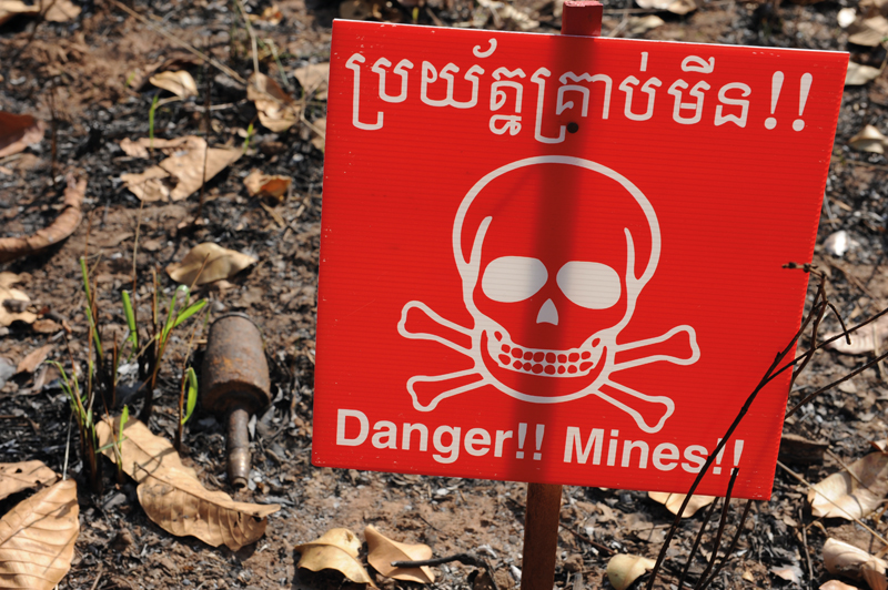 United States to cease producing landmines that target people