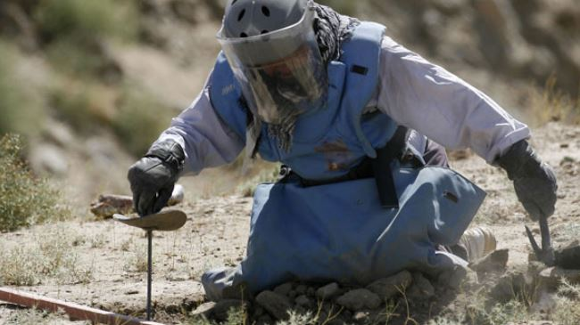 Eight humanitarian deminers killed in Afghanistan