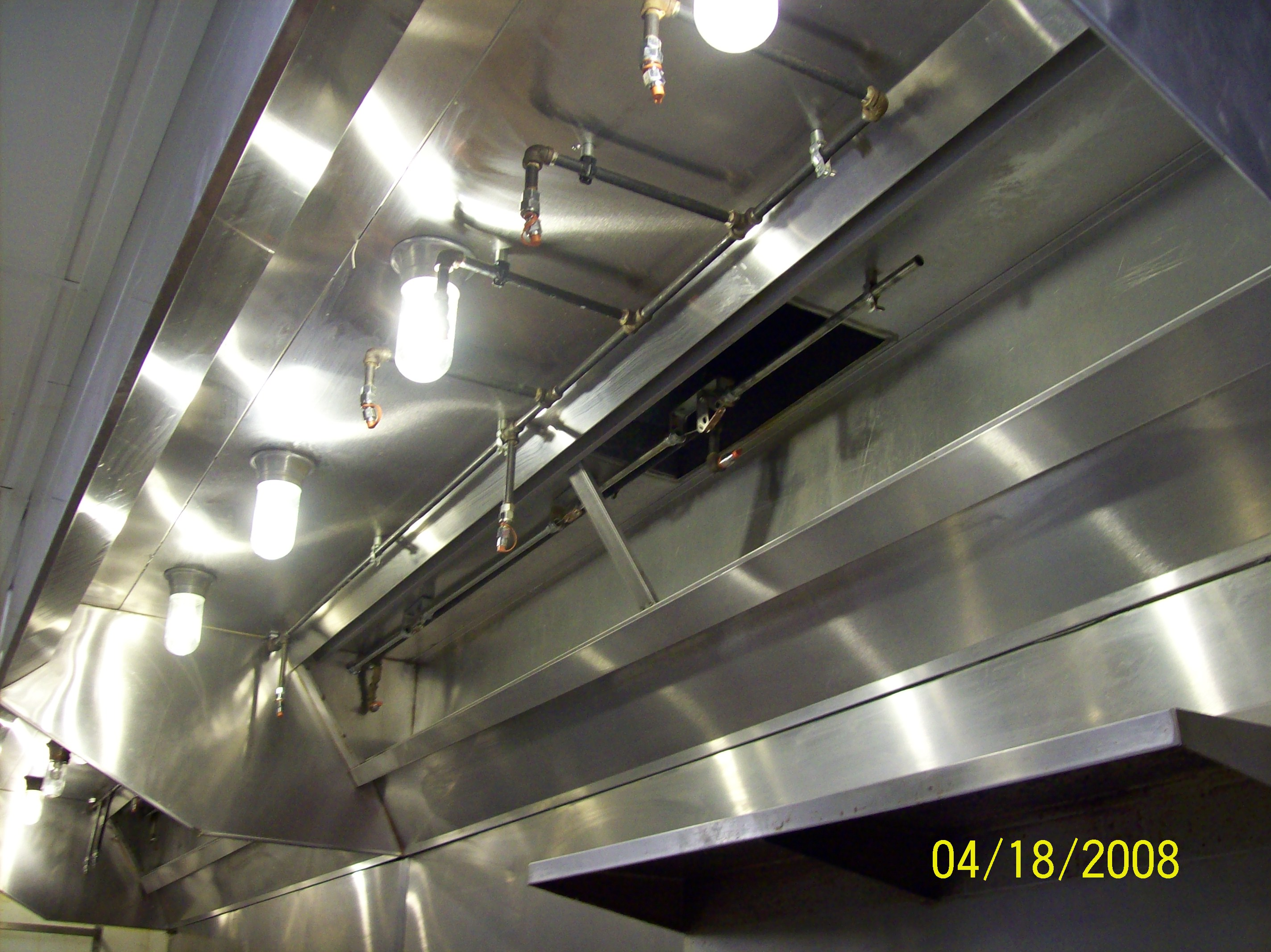 kitchen exhaust fan installation sanding and restaining cabinets nfpa 96 codes safe guard commercial hood