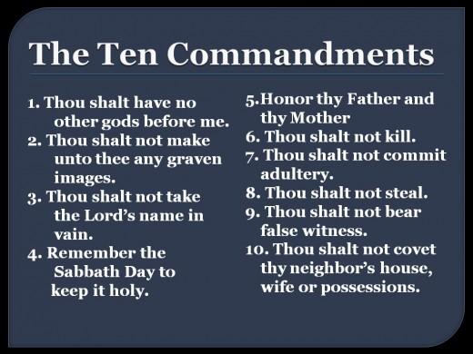 10 commandments # 19