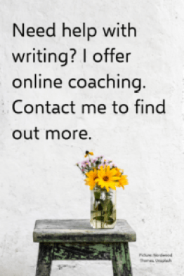 Advert for my coaching business