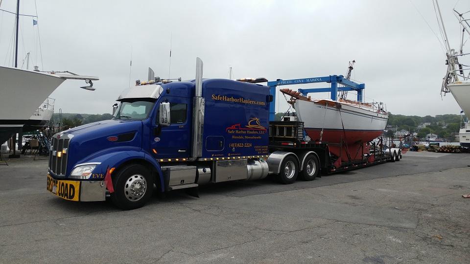 Tayana T37 Sailboat Moving