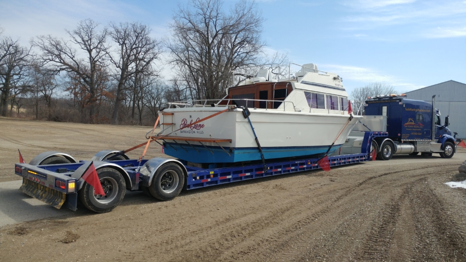 yacht transport, yacht delivery,
