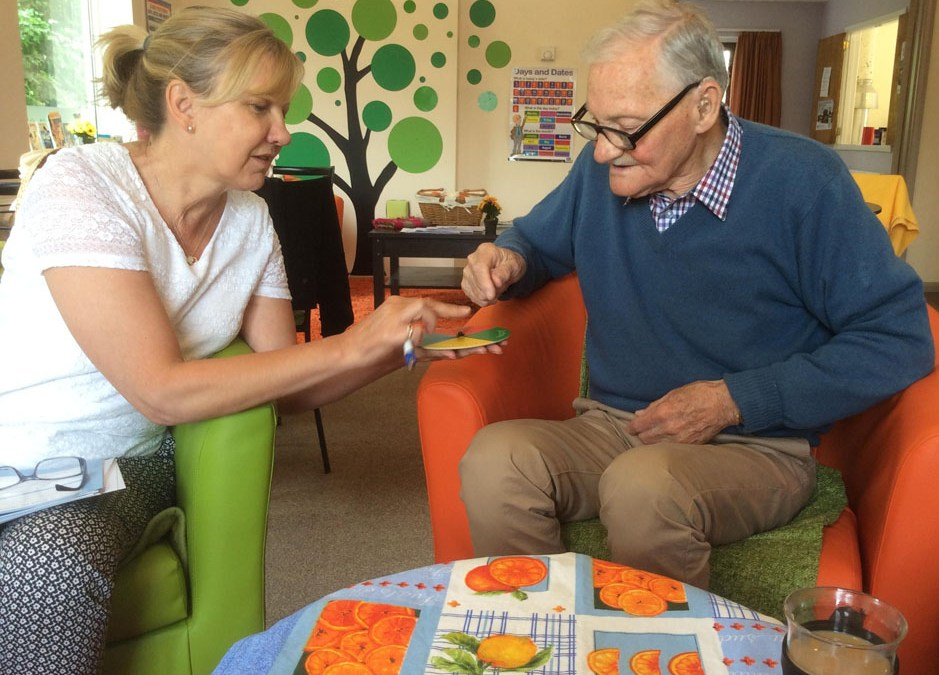 Dementia-based board game wins over clients at Safe Haven