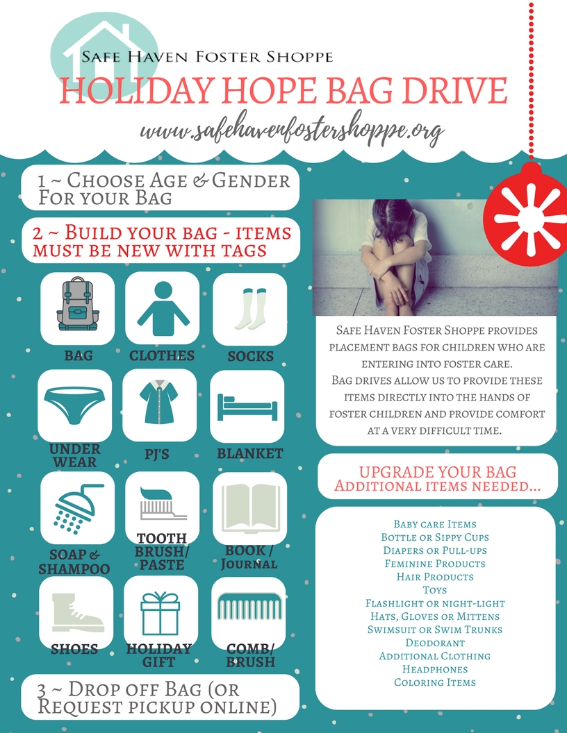 Holiday BAG DRIVE