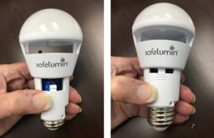 replace battery-safelumin led light bulbs