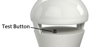 test button-safelumin led lights