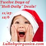 Lullaby Organics Cyber Monday Giveaway!