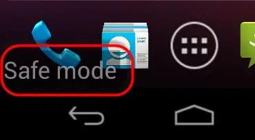 How to Enable Safe Mode on Motorola Moto G2 XT1063