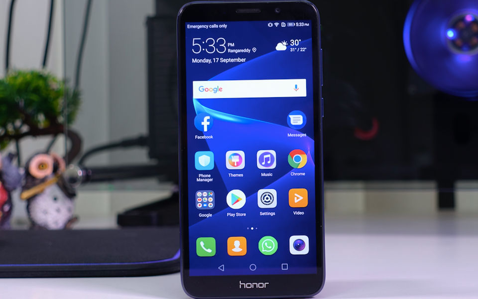 How to boot into safe mode on Honor 7S
