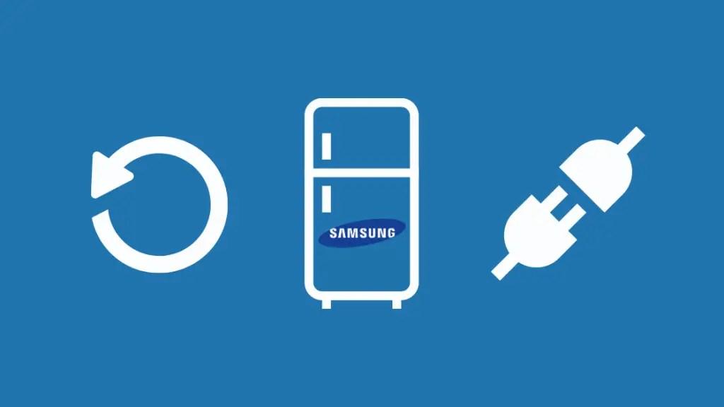 How to power reset your Samsung Refrigerator