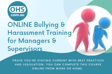Bullying and Harassment Training for Managers and Supervisors