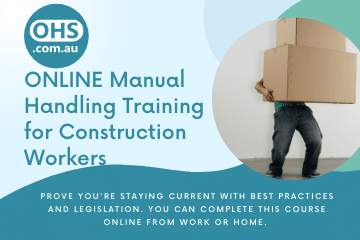 Manual Handling Training for Construction Workers