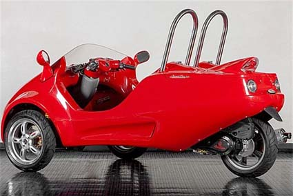 Other Worldly Three Wheeled Slingshot Incredible And Street Legal