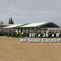 Heavy Duty 32 X 16 White Party Wedding Tent Canopy Carport