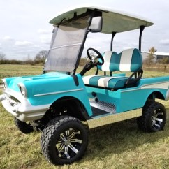 Chevy Radio 57 Gm Cal Err Lifted Golf Cart Club Car Precedent With Custom Rims Make Easy Monthly Payments Over 3 6 Or 12 Months